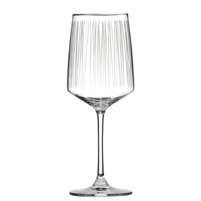 lot de 6 verre vin fizz transparent sibo homeconcept la redoute. Black Bedroom Furniture Sets. Home Design Ideas