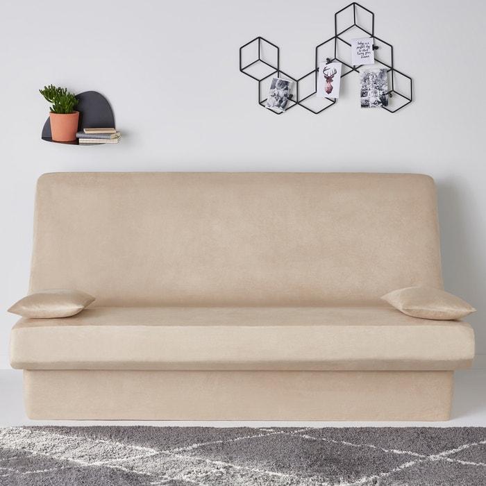 copridivano clic clac effetto scamosciato kala la redoute. Black Bedroom Furniture Sets. Home Design Ideas