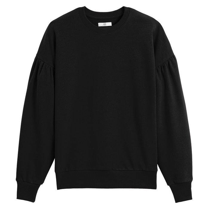 New Crew Clothing Co Sweatshirt //Jumper// pullover Motif draw string half zip 10
