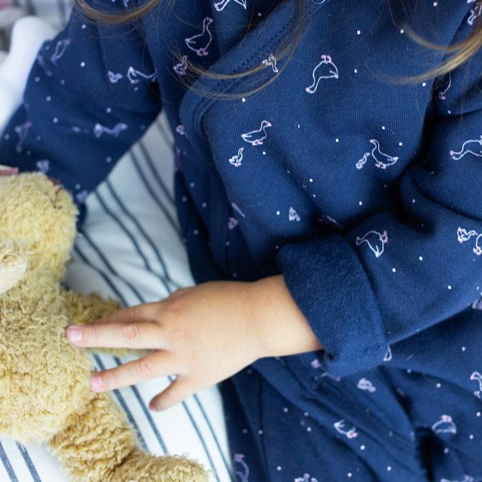22e77220ed Lote de 2 pijamas para recién nacido de felpa
