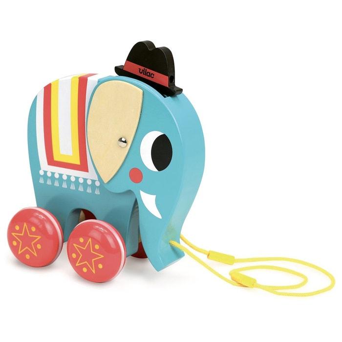 Vito l'éléphant à trainer  Ingela P.Arrhenius 7714  VILAC image 0