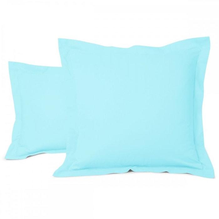 taie d 39 oreiller unie coton tradition des vosges la redoute. Black Bedroom Furniture Sets. Home Design Ideas