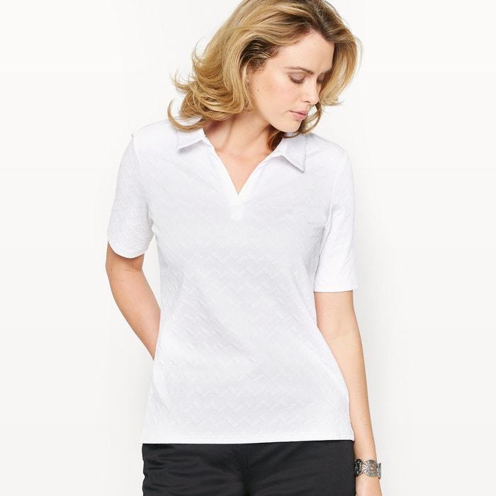 Image T-shirt, maille reliéfée ANNE WEYBURN