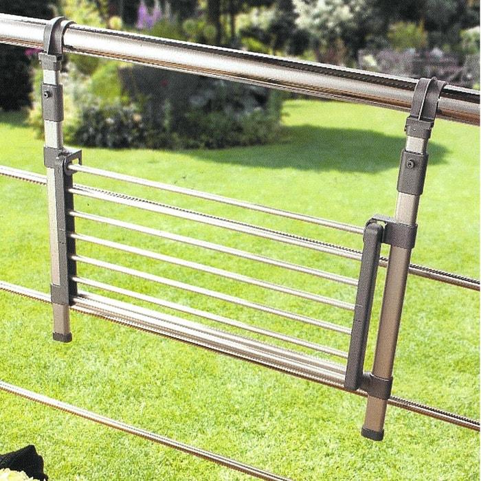 Tendedero para balc n o para mampara aluminio la redoute - Tendedero de balcon ...