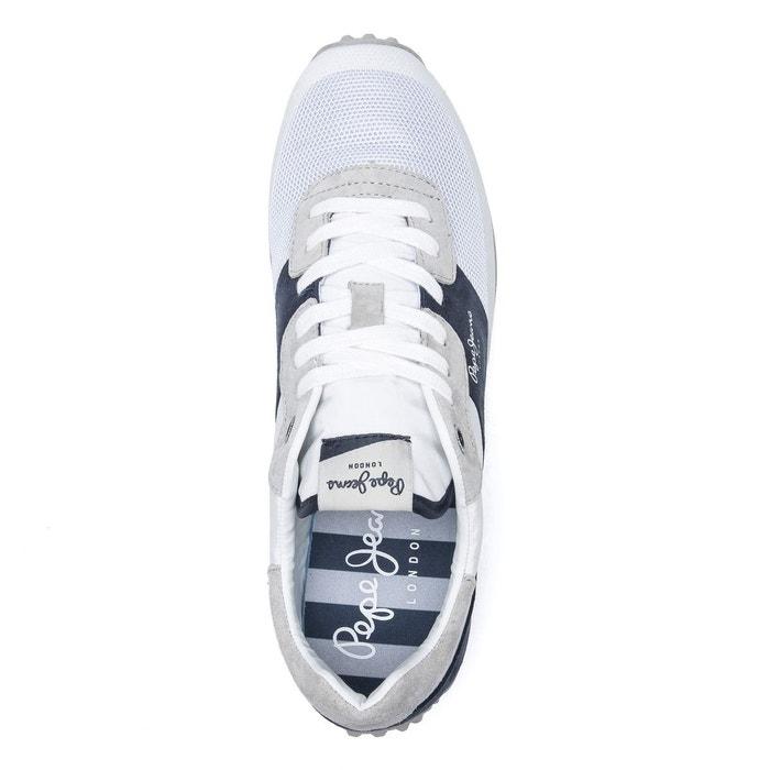 Baskets garret sailor blanc Pepe Jeans
