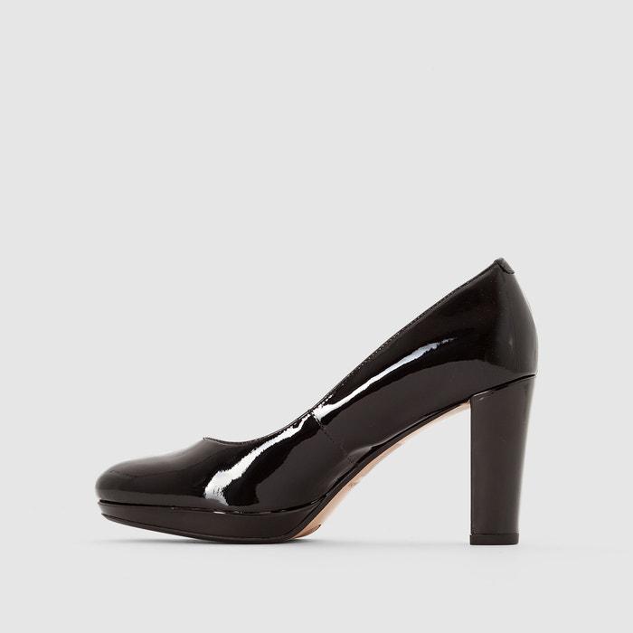 CLARKS de Sienna Kendra piel charol de 243;n tac de Zapatos 66BzqrgF
