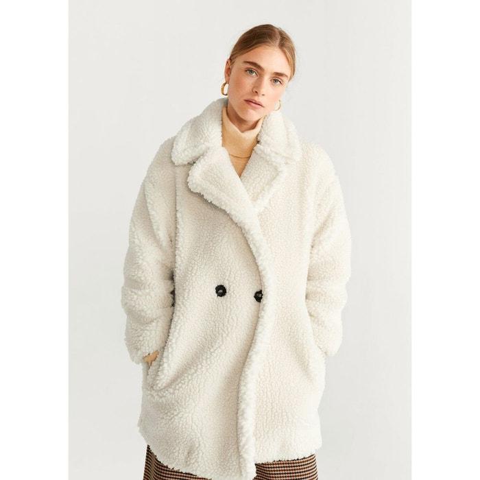 acheter en ligne 77d78 0075b Manteau oversize imitation mouton retourné