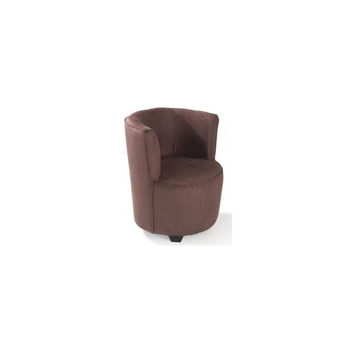 fauteuil microfibres marron ebene samba marron ebene pier. Black Bedroom Furniture Sets. Home Design Ideas