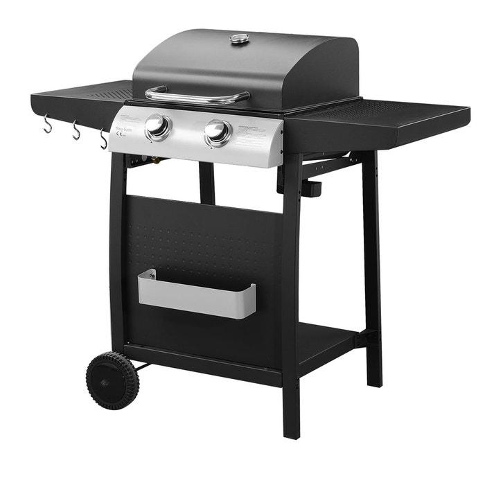 barbecue au gaz 2 br leurs nevada noir happy garden la redoute. Black Bedroom Furniture Sets. Home Design Ideas