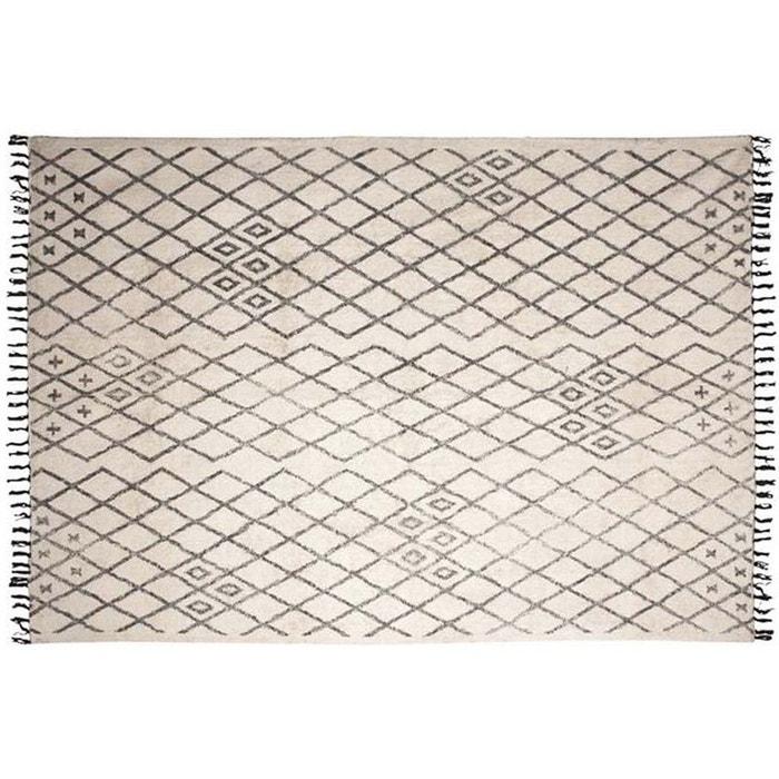 tapis berbre en coton masuna 200x300 cm aubry gaspard image 0 - Tapis 200x300