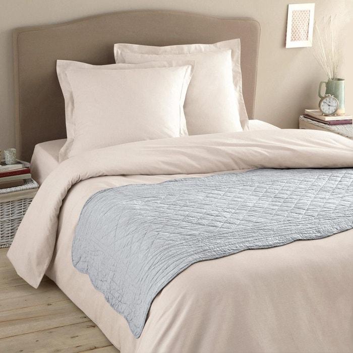 chemin de lit matelass pur coton scenario la redoute interieurs la redoute. Black Bedroom Furniture Sets. Home Design Ideas