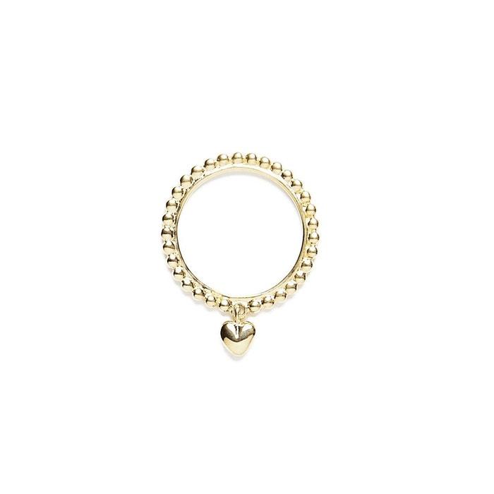 Bague vermeil ligne de perles et coeur or Agnes De Verneuil | La Redoute Magasin De Liquidation 9Ilkp