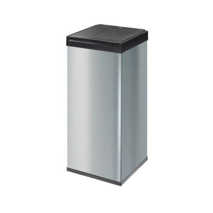 poubelle big box touch 80 litres argent a monter hailo. Black Bedroom Furniture Sets. Home Design Ideas