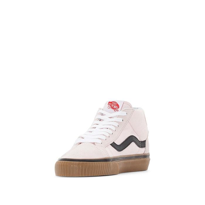 3d16045fb01 Ua mid skool 37 2 leather high top trainers