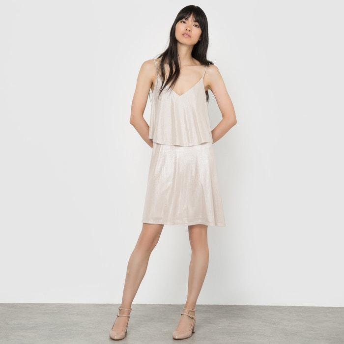Iridescent Strappy Dress  VILA image 0