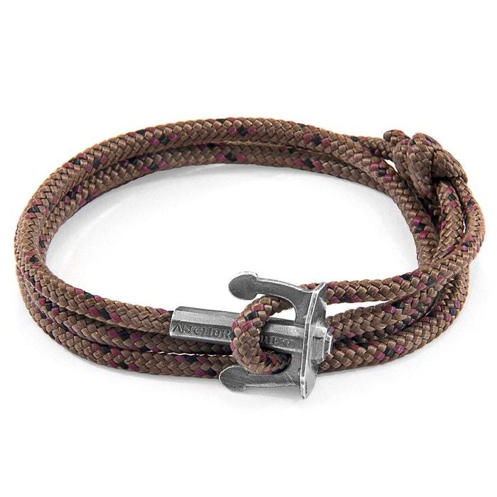 Bracelet ancre union argenté et corde Anchor & Crew | La Redoute 2018 Nouveau Prix Pas Cher TtphReB8