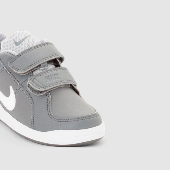 bf4e7fc722d58 Zapatillas con cierre autoadherente pico 4 (ps) gris Nike