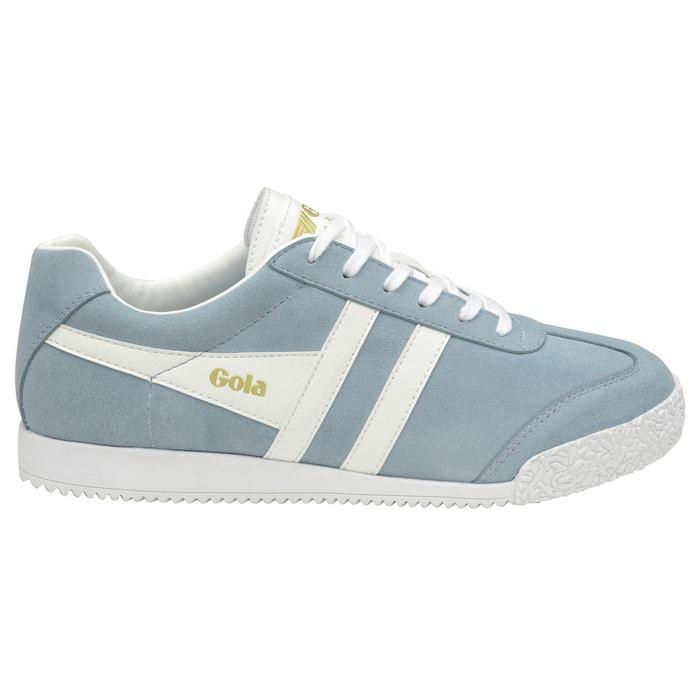 Baskets harrier bleu-blanc Gola