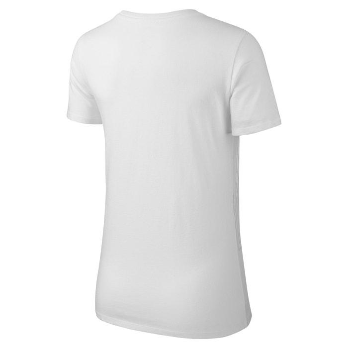 Camiseta lisa con cuello redondo corta manga NIKE y dWF6nwqdx