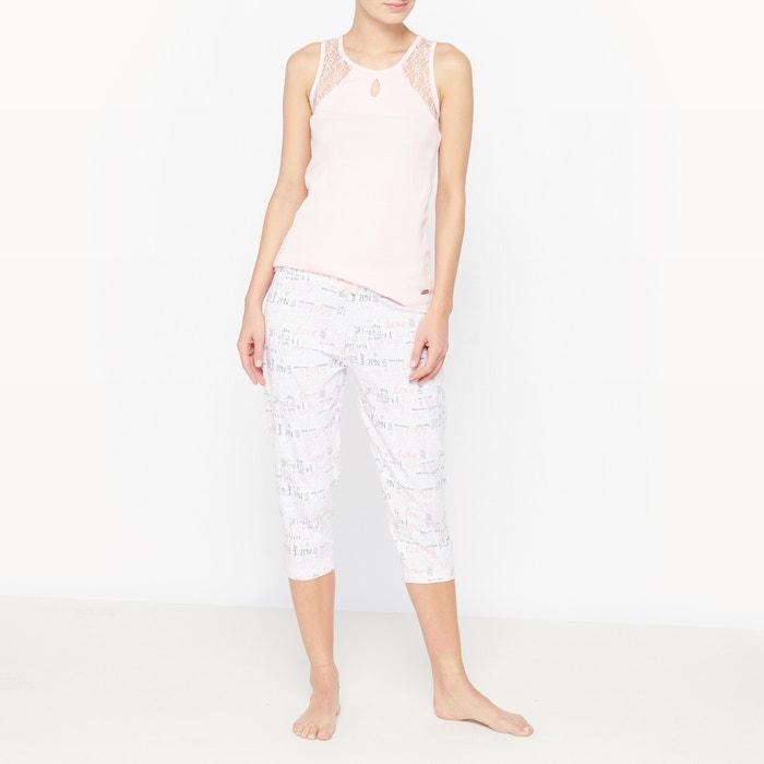 Pijama con pantalón pesquero de algodón Poème  DODO image 0