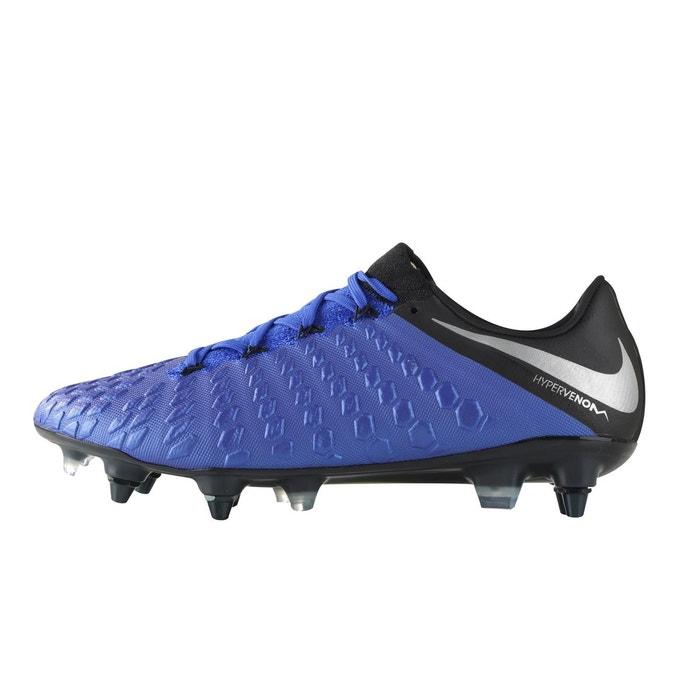 official photos 8fd04 f3d53 Nike hypervenom phantom iii elite sg-pro anticlog bleu bleu Nike   La  Redoute