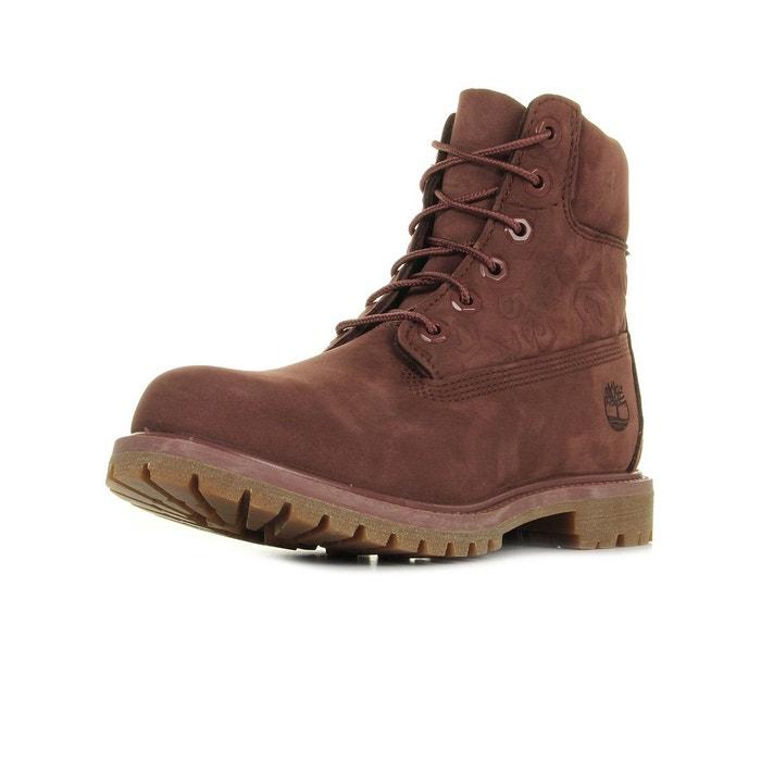 Vente Recommander Livraison Rapide Boots femme 6in premium boot w sable bordeaux Timberland Footaction Choix La Vente En Ligne Prix Pas Cher Officiel cn26Uz0