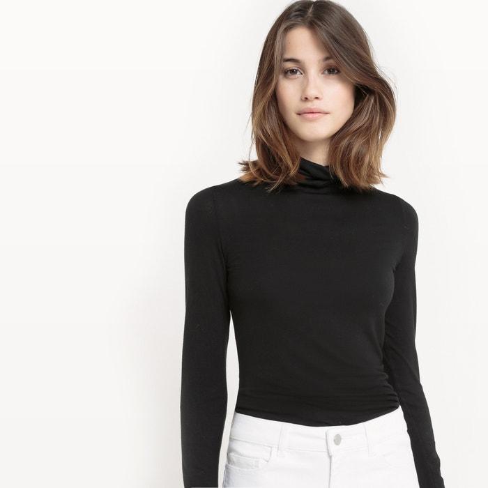 b8248542ba Plain roll-neck t-shirt La Redoute Collections | La Redoute