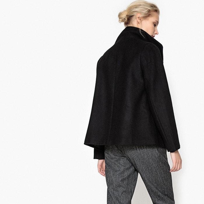Manteau court avec col montant  La Redoute Collections image 0