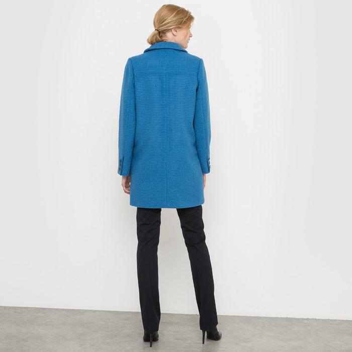 de Collections La o pa Abrigo lana de Redoute trenzado IYrxw5SIq