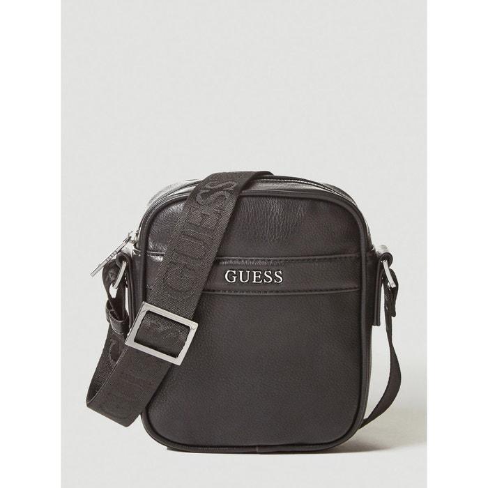 e57a1f4a77 Mini sac en bandoulière city noir Guess | La Redoute