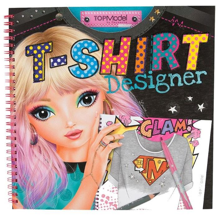 Album coloriage t shirt designer top model couleur unique - Album de coloriage top model ...
