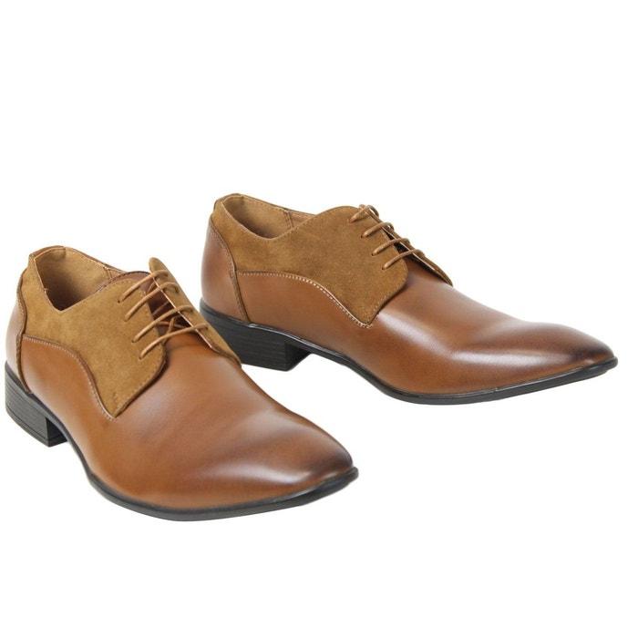 Chaussures elo588 marron Kebello