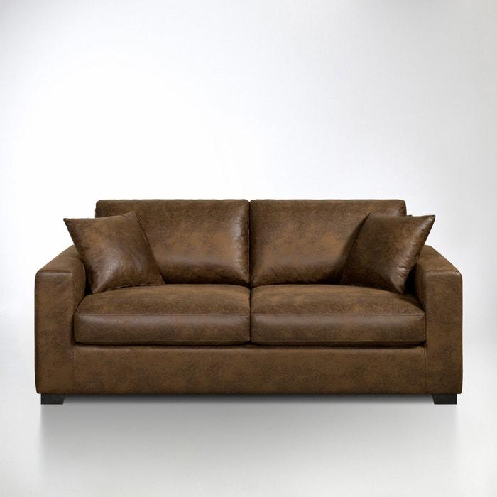 afbeelding Omvormbare canapé in microvezel Hiba La Redoute Interieurs