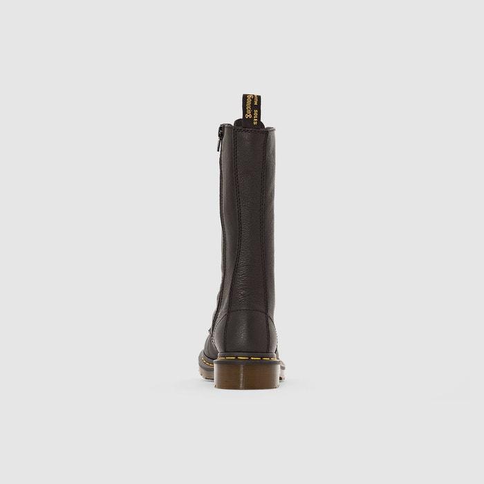 Bottes cuir à lacets 1b99 noir Dr Martens