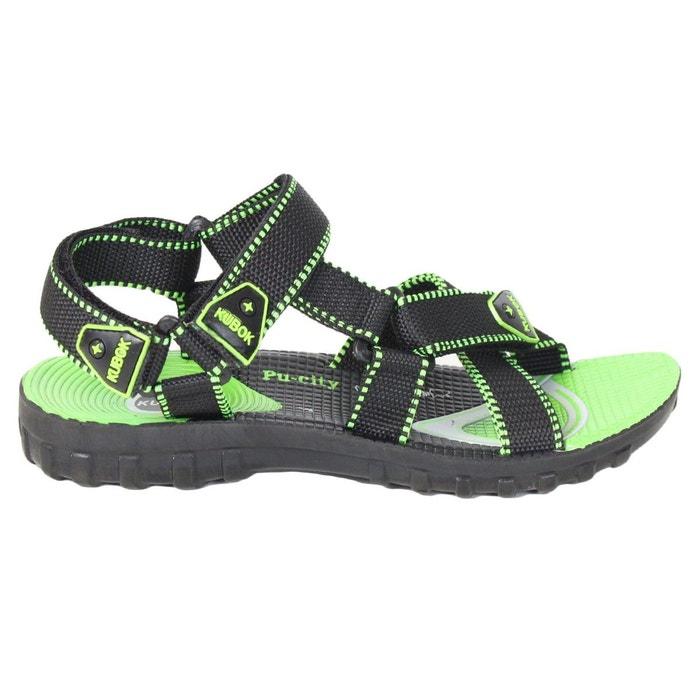 Sandales 70598 vert Kebello