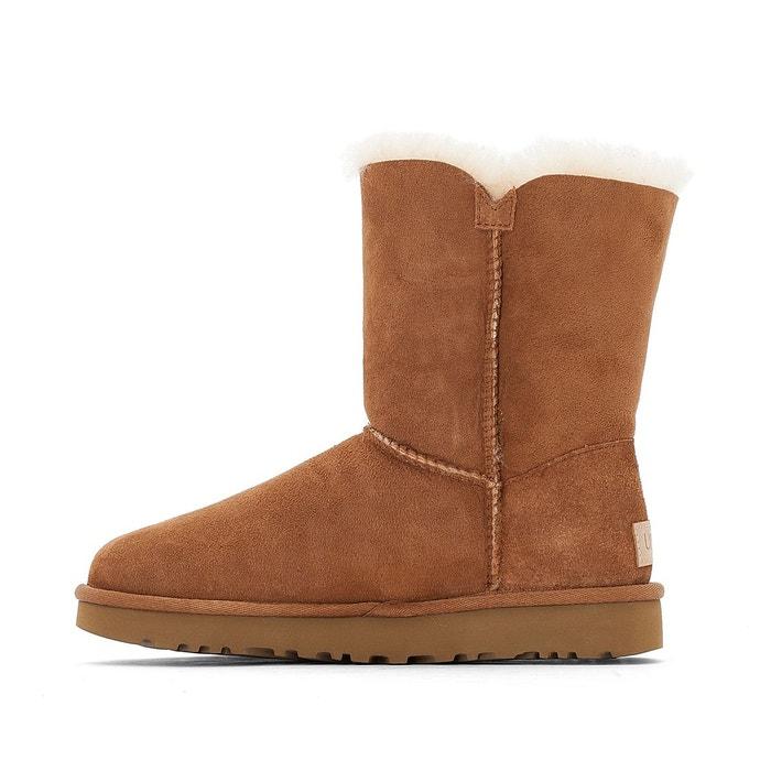 Boots croûte de cuir vachette Ugg