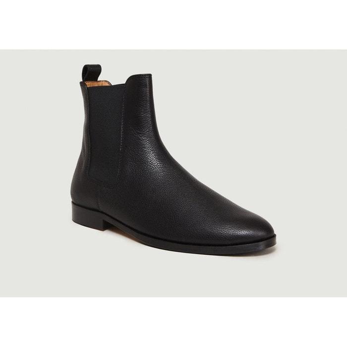 8aab7158a90 Chelsea boots en cuir le romanesque noir Bobbies