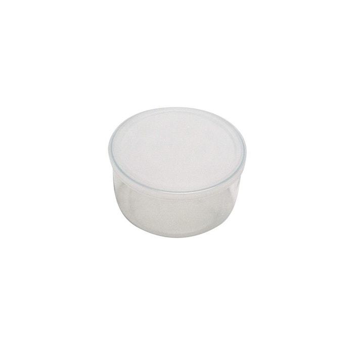 plat rond en verre avec couvercle 17cm transparent pyrex la redoute. Black Bedroom Furniture Sets. Home Design Ideas