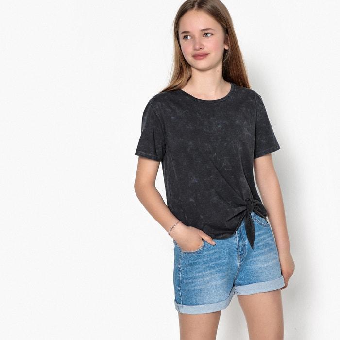 T-shirt da annodare 10-16 anni  La Redoute Collections image 0