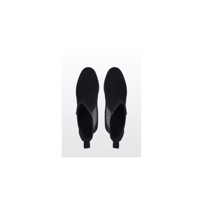 Bottines-laurene noir velours What For