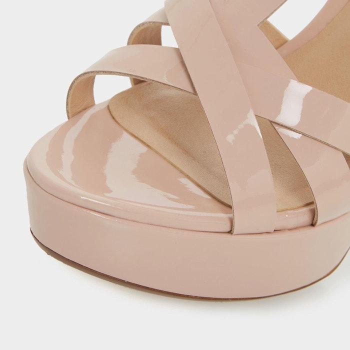 Sandales style salomé à plateformes et croisillons - maui Dune London