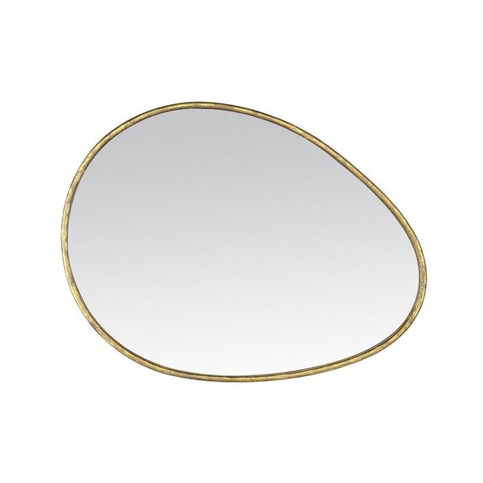 Miroir contemporain galet 60x90 or emde premium la redoute for Miroir emde deco