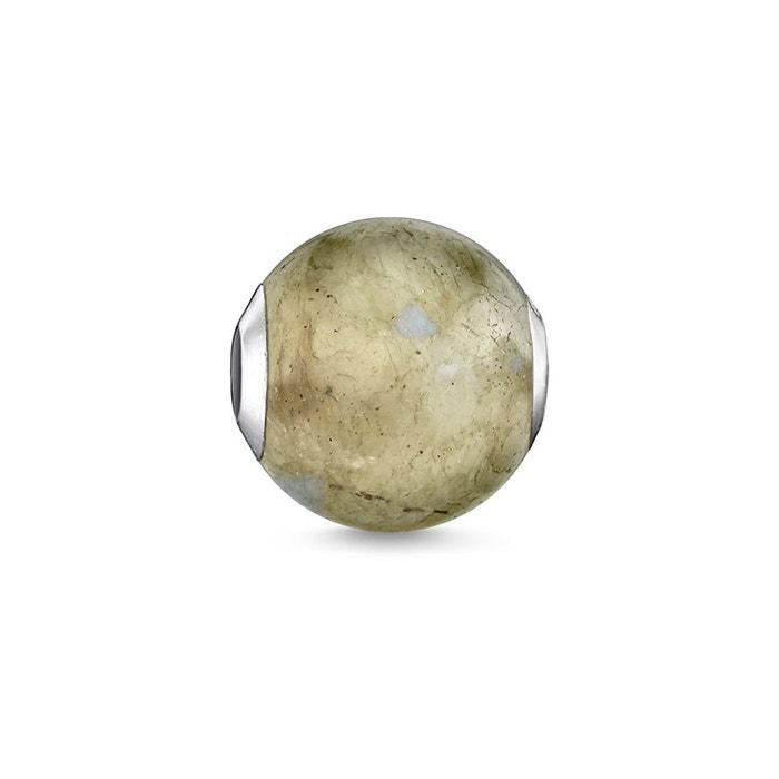 Bead argenté, gris Thomas Sabo | La Redoute