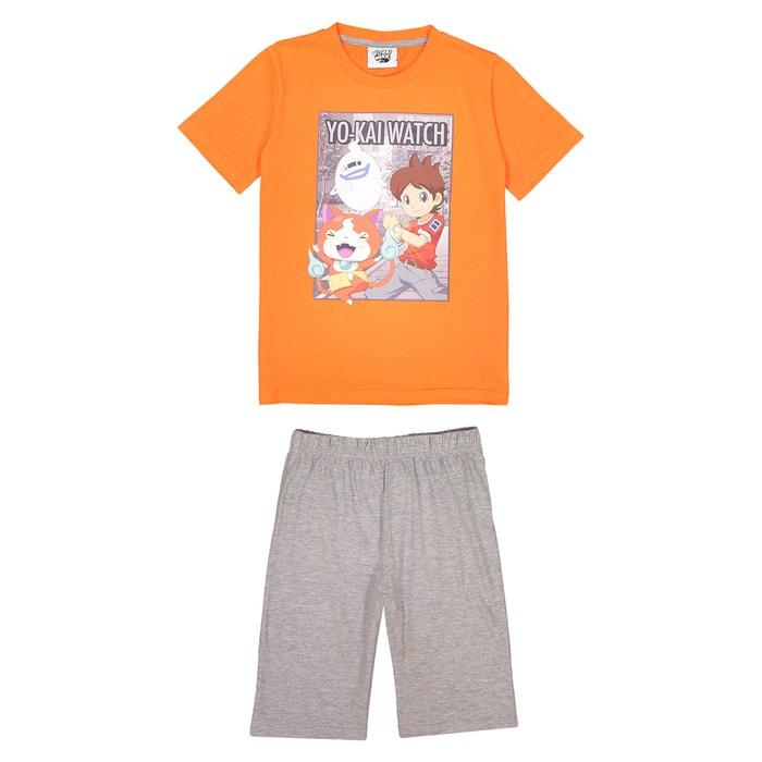 2-Piece Short Pyjamas, 6-12 Years  YO KAI WATCH image 0