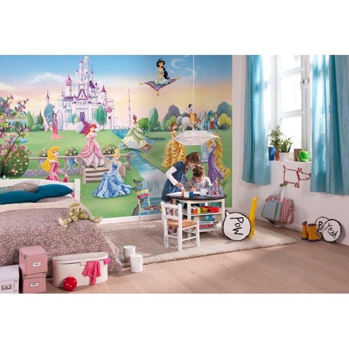 Papier Peint Chateau De Princesse Disney 368x254 Cm Multicolor