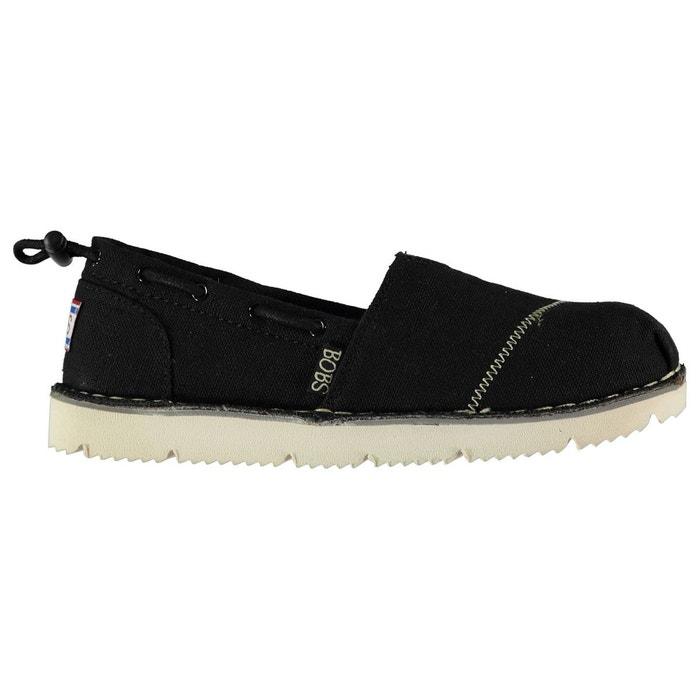 Chaussures en toile noir Skechers