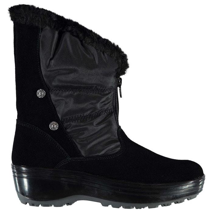Vente Magasin D'usine Bottes de marche en cuir noir Skechers Professionnel Vente En Ligne dgCyhHXGx