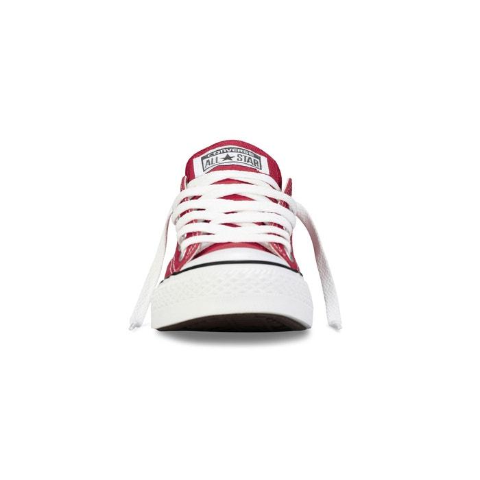 a8539640660 Baskets basses ctas ox core canvas Converse rouge