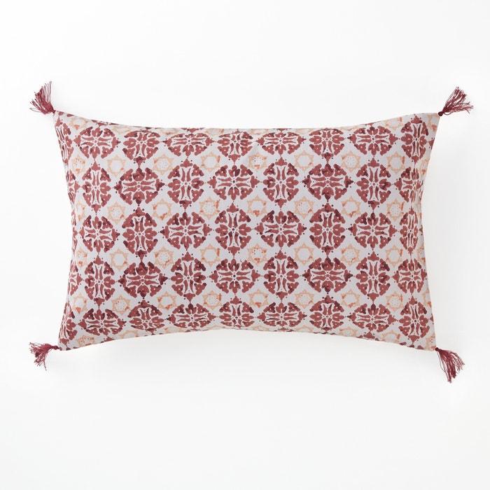 Terrington Cotton Sateen Cushion Cover  La Redoute Interieurs image 0
