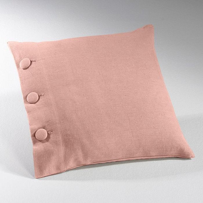 housse de coussin m tis lin coton ta ma la redoute interieurs la redoute. Black Bedroom Furniture Sets. Home Design Ideas